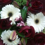 Elegance hand-tied flower bouquet